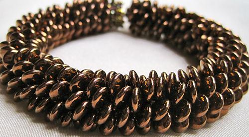 Ravelry Lentil Bead Crochet Bracelet Pattern By Linda Lehman