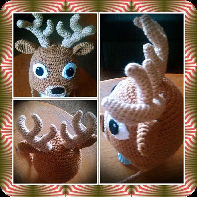 Ravelry  Big Buck Deer Hat pattern by Pam Woods a0a0ce24bcf