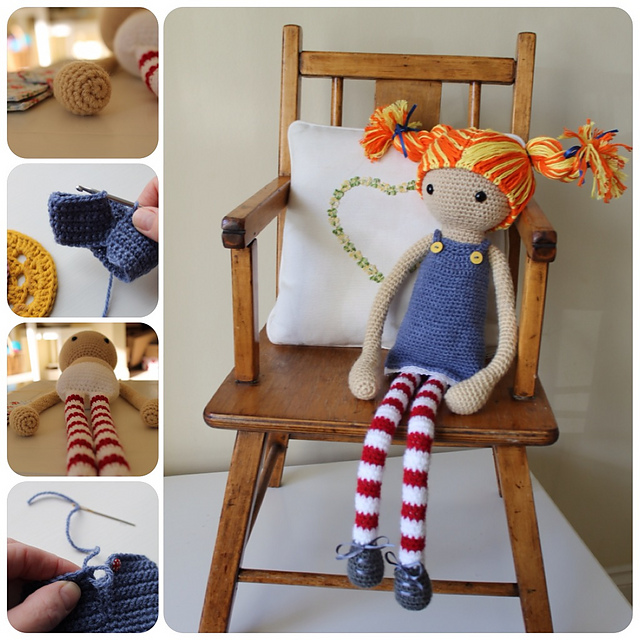 Ravelry Astrid A Crochet Doll Pattern By Annaboos House