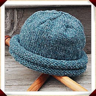 Ravelry  Rolled Brim Hat - Double-Roll Storm Hat pattern by Annie s Woolens 61a6aeddbc2