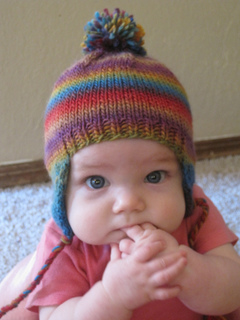 Ravelry Babee Chullo Baby Earflap Hat Pattern By Bobbi