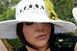 63ce1359f Ravelry  Sunny Days Sun Hat pattern by April Bennett with Cuddle Me ...