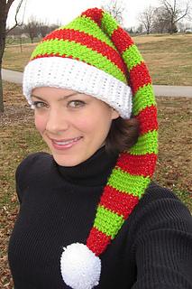 Ravelry  Silly Simple Elf Hat pattern by Pren Posada 0577ef906d3