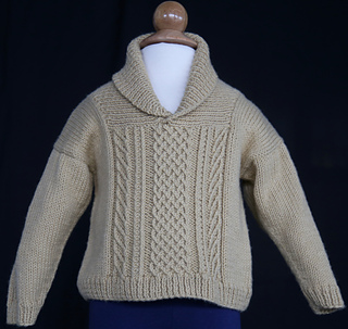 88829795a160 Ravelry  Baby and Big Boy Bavarian Sweater pattern by Arenda Holladay