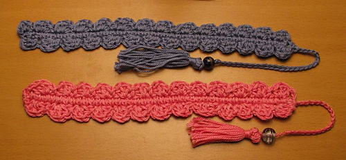 Ravelry: Crocheted Shell Bookmark Pattern By Armina Parnagian