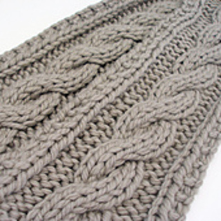 Ravelry Artifax S Insanely Easy Cable Scarf