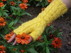 Shannon_fingerless_gloves_modeled_by_amy_-_orange_flower_1_small