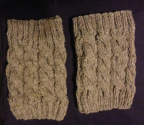 Ravelry Cabled Boot Cuffs Pattern By Ann Saglimbene