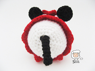 Tsum Tsum Amigurumi Pattern Free : Ravelry minnie mouse tsum tsum pattern by sheep shaved