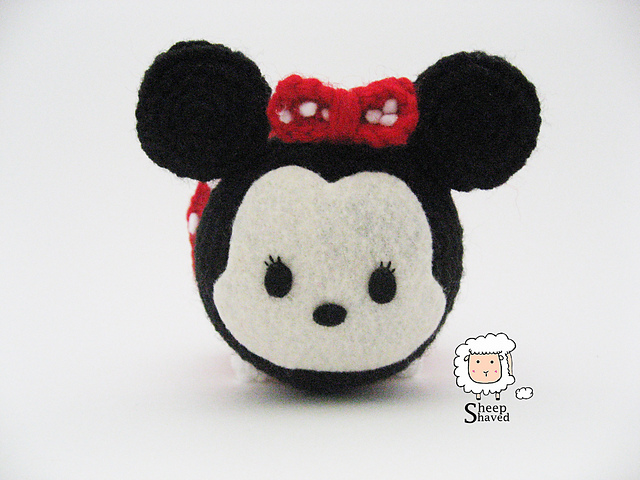 Ravelry: Minnie Mouse Tsum Tsum pattern by Sheep Shaved