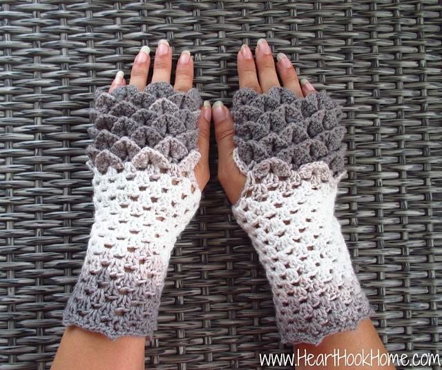 Ravelry Dragon Tears Fingerless Gloves Pattern By Ashlea Konecny
