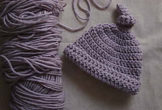 Ravelry  Crocheted Baby Top Knot Hat pattern by Ashlyn Holmes 376210356792