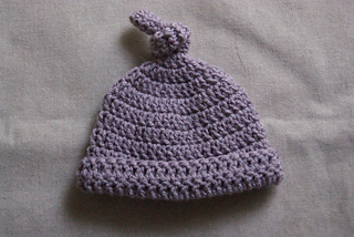 Ravelry  Crocheted Baby Top Knot Hat pattern by Ashlyn Holmes 3c071736f9f