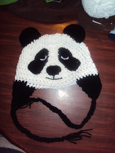 Ravelry Cute Panda Hat Pattern By Ashley Phelps