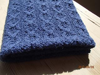 54ec62543221 Ravelry  First Leaves Baby Blanket pattern by Anne B Hanssen