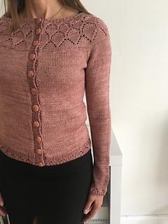 ae69dbf14a Ravelry  Nigella lace cardigan pattern by Anne B Hanssen