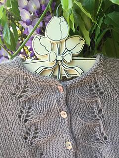cbb2ff9d9d Ravelry  May flower cardigan pattern by Anne B Hanssen