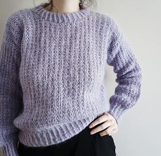 Ravelry Velvety Sweater Pattern By Gregoria Fibers