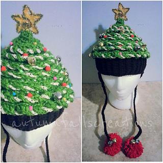 f1df7ccb6 Crochet Christmas Tree Hat pattern by Debi Dearest