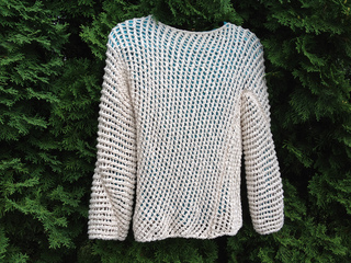 0f42a62efa68 Ravelry  Diagonal Mesh Pullover pattern by Lion Brand Yarn