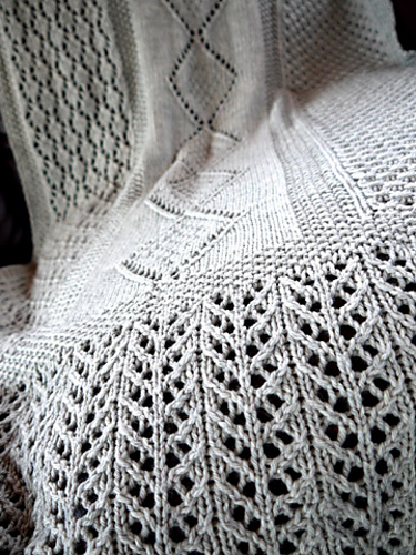 Ravelry Lace Blanket Shawl Pattern By Denise Twum