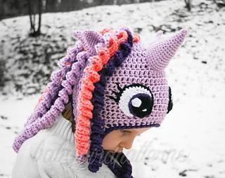 Ravelry My Little Pony Twilight Sparkle Hat Pattern By Jac Sveden