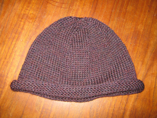 Ravelry  Basic Roll-Brim Beanie pattern by Ana Clerc e37d6764d32