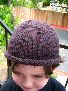 1b496802a4c Ravelry  Basic Roll-Brim Beanie pattern by Ana Clerc