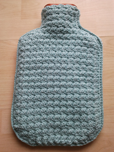 Ravelry Hot Water Bottle Cover Pattern By Anchor