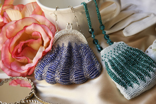 Dotted Coin Purse Beaded Knit Pattern