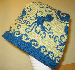 f834a3c5c7f Ravelry  Flat-top Octopus Hat pattern by Molly Kent