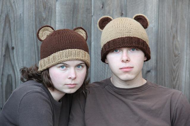 patterns   Bear Ears Ravelry Store.   Bear Hat e4398cf86ee