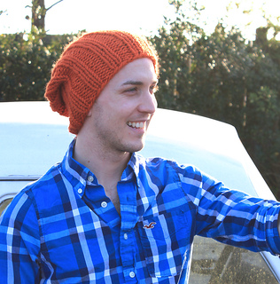 fe8c74f22 Thick Ribbed Hat pattern by Brooke Snow - Ravelry