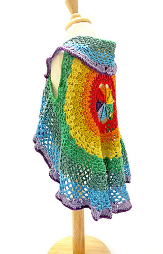 3a0fe39dcf34bc Ravelry Patterns Library Rainbow Mandala Waistcoat - Library and Zoo ...