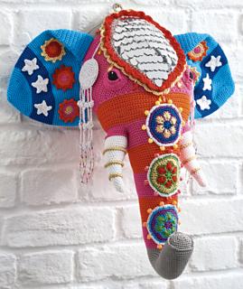 Ravelry Beaded Elephant Head Pattern By Vanessa Mooncie