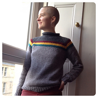 Ravelry Wesley Crusher Sweater For Adults Pattern By