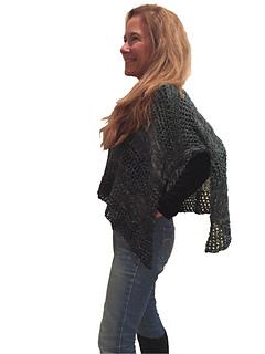 9dd97424432479 Ravelry  Elegant Poncho pattern by Becky Pursell
