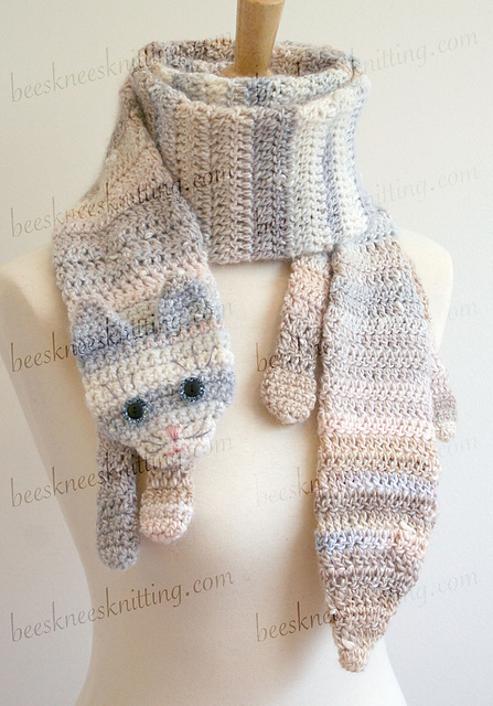 Ravelry 11 Animal Scarves Crochet Pattern Bundle Patterns