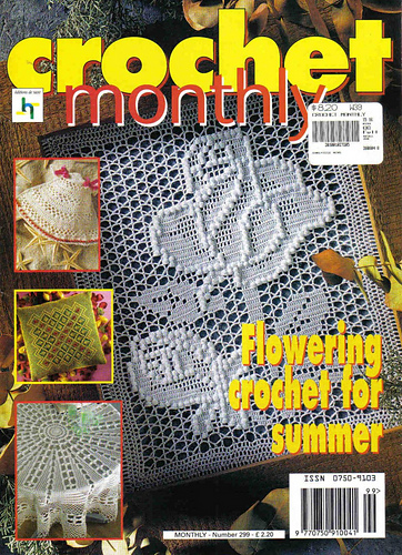 Ravelry Crochet Monthly Uk 299 Patterns