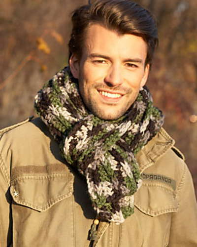 Ravelry Mens Scarf Pattern By Bernat Design Studio
