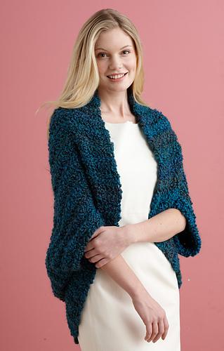 Ravelry: Simple Crochet Shrug #L20507 pattern by Lion Brand Yarn