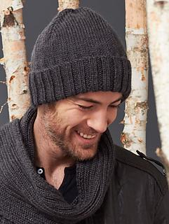 Ravelry: Men's Basic Hat pattern by Caron Design Team