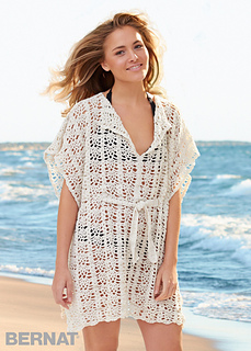 Ravelry Beach Cover Up Pattern By Bernat Design Studio