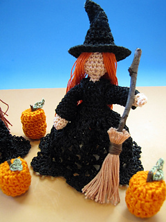 Ravelry: The Littlest Witches pattern by Elizabeth Ann White