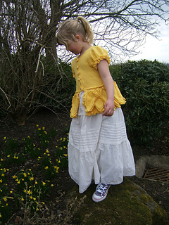 Beth_daffodil_cardigan_standing_up_on_rock_by_baby_daffodils_small2