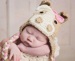 Ravelry  Pony Horse Crochet Hat pattern by Jamis Jams 238092fd9b2