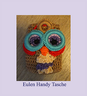 Ravelry Eule Handytasche Smartphone Pattern By Berli Design