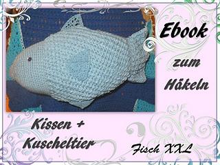 Ravelry Fisch Xxl Fish Amigurumi Crochet Pattern By Berli Design