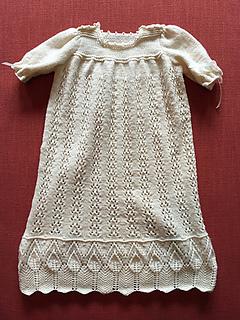 41e31dcca8e1 Ravelry  Daisy Long Christening Dress Set pattern by Rita Taylor