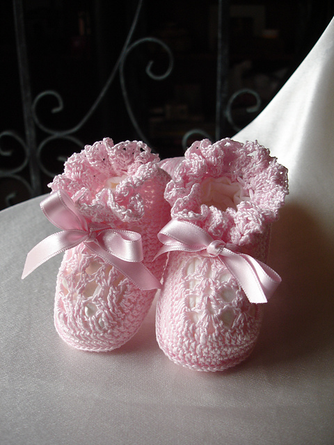 Ravelry baby booties pattern by princesse x dt1010fo